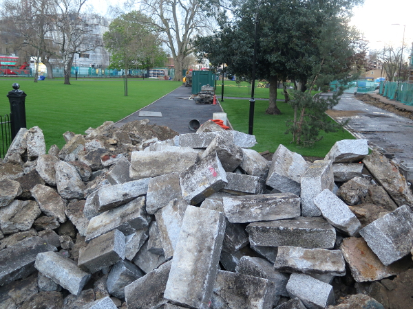 CamberwellGreenRubble01