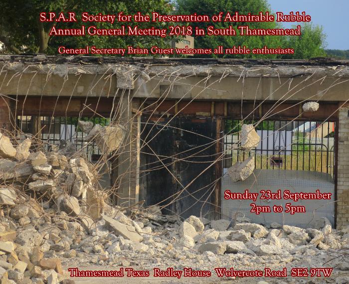 SPAR Thamesmead Texas Final Invitation